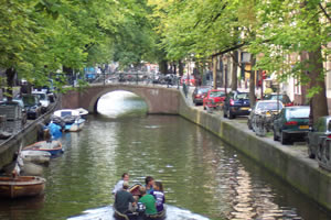 Canales de Ámsterdam