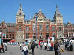Centraal station - Ámsterdam