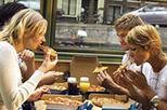 Crucero por los canales de Ámsterdam degustando pizza