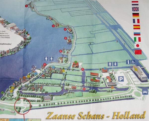 Plano Zaanse Schans