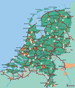 Mapa rutas cicloturisticas