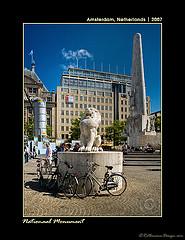 Monumento nacional en Amsterdam