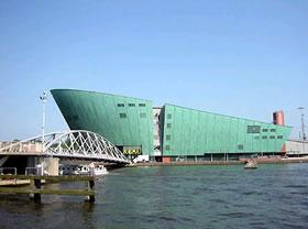 Nemo museo cientifico de Amsterdam