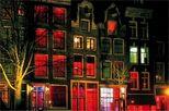 recorrido a pie por el barrio rojo de Ámsterdam