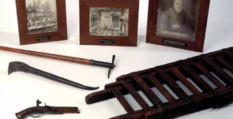Wapens en gereedschap van Sjakoo - 1710 -Propietario desconocido