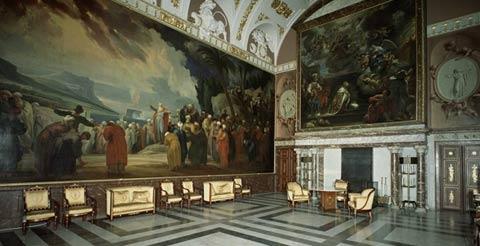 Interiores palacio real de Amsterdam